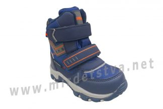 Зимние ботинки на мембране для мальчика B&G R20-201