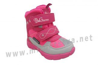 Зимние термоботинки для девочек B&G R20-2065