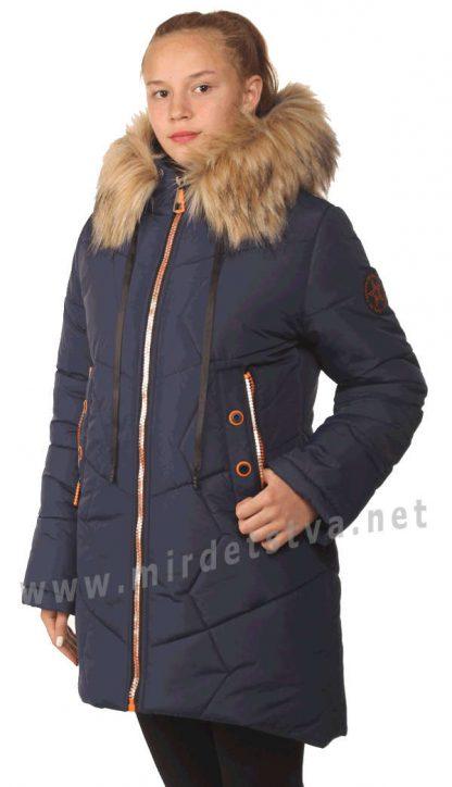 Зимняя куртка для девочек Nestta Sandra с капюшоном