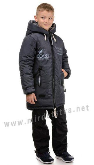 Зимняя удлиненная куртка для мальчика Traveler Дорсет