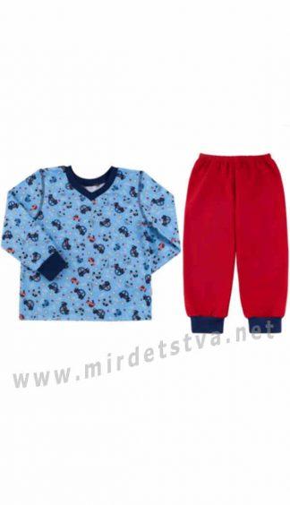Детская байковая пижама Бемби ПЖ41