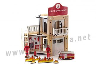 Конструктор на магнитах ТМ Zevs-toys 400327 «Fire department» 75 деталей