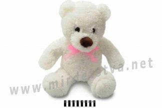 Медведь Тедди №1 белый В031 Масяня