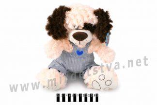 Музыкальная собака мягкая Масяня 2825D