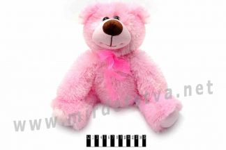 Розовый мишка Карамелька B035 Масяня