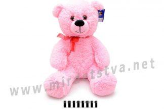 Розовый мягкий мишка В117 Масяня
