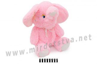 Розовый слоненок игрушка Масяня В098