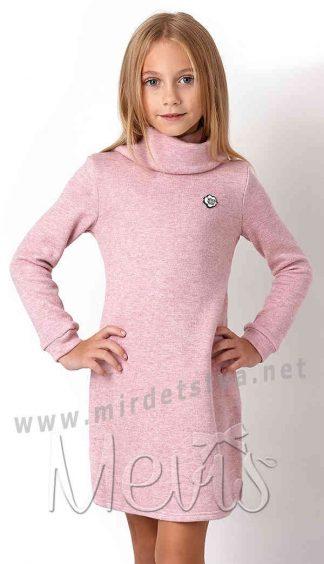 Теплая туника для девочки Mevis 3109-03