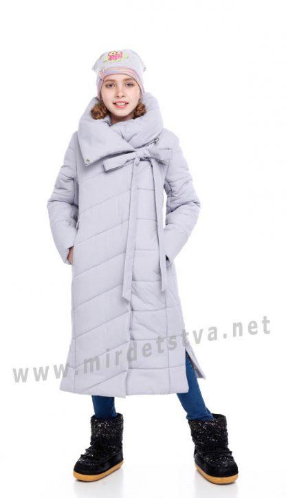 Удлиненное зимнее пальто для девочек Origa Вероника