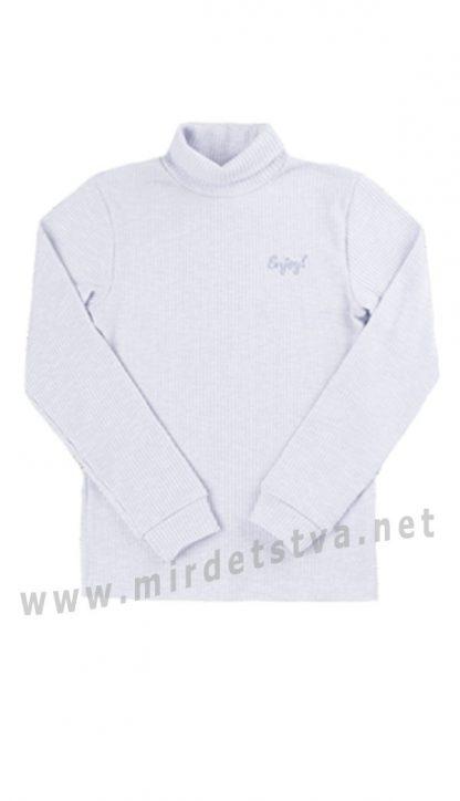Утепленный серый гольф детский Бемби ГФ103