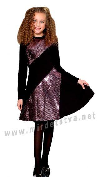 Красивое платье Lukas 9528 с длинным рукавом