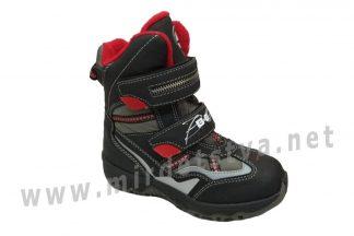 Практичные и теплые мембранные ботинки на мальчика B&G RAY155-1717