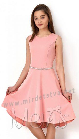 Приталенное подростковое платье Mevis 2778-03