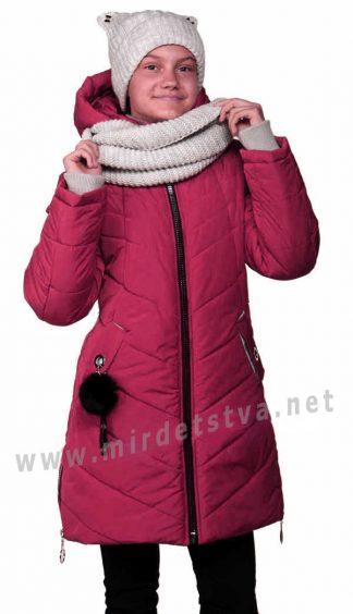 Зимняя куртка в комплекте со снудом и шапкой Nestta Melissa