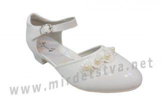 Белые туфли на каблуке Tom.m C-T1038-A нарядные
