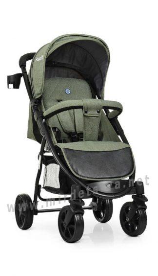 Детская коляска для прогулок EL CAMINO M 3409L Favorit Sage Green