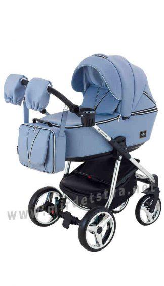 Детская модульная коляска Adamex 2в1 Sierra Polar Chrome SR333