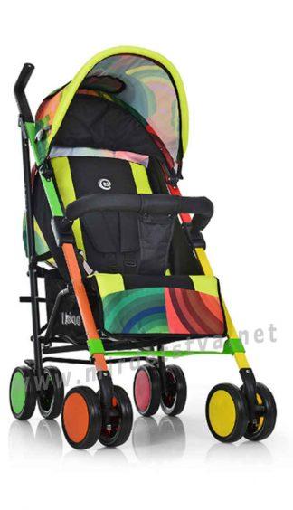 Детская прогулочная коляска-трость EL CAMINO ME 1035 Colorito