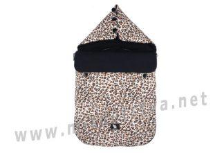 Детский конверт универсальный Cottonmoose Pooh 330 79 109 леопардовый