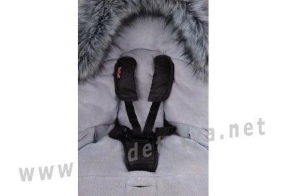 Функциональный конверт зимний CottonMoose North Moose 873-2 gray