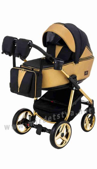 Коляска для детей Adamex 2в1 Sierra Polar Gold SR403