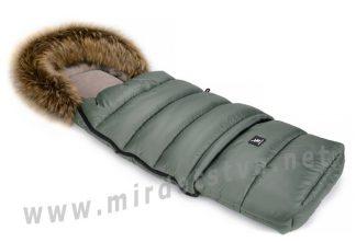 Конверт детский зимний Cottonmoose Combi 736 141 73 144 jungle green