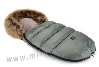 Конверт детский зимний Cottonmoose Moose 422-2 jungle green