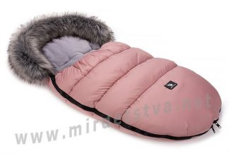 Конверт для девочки Cottonmoose Moose 422-4 pink зимний