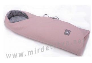 Конверт в коляску и автокресло Cottonmoose ODWF 439 113 49 pink