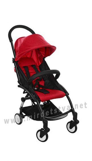 Красная детская коляска EL CAMINO M 3548-3 Yoga