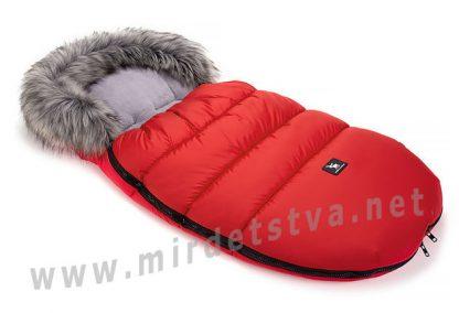 Красный конверт для малышей Cottonmoose Moose 422-9 red
