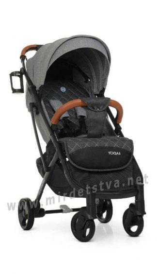 Прогулочная коляска EL CAMINO M 3910 Yoga II Iron Gray