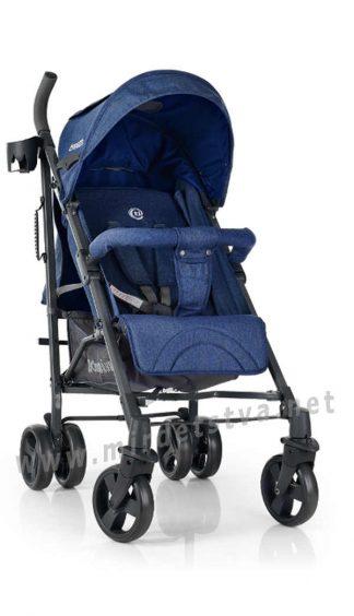 Прогулочная коляска EL CAMINO ME 1029 Breeze Space Blue
