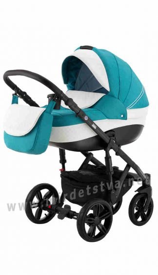 Универсальная коляска Adamex 2в1 Prince X-30 бирюзовый