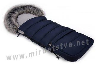 Универсальный зимний конверт Cottonmoose Combi navy blue