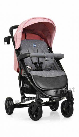 Всесезонная коляска EL CAMINO ME 1011L Zeta Pale Pink