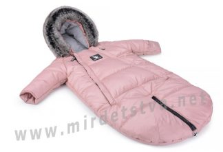 Зимний комбинезон трансформер Cottonmoose Moose 0-6 M 767/111 pink