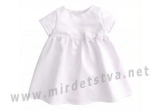 Белое платье Бемби ПЛ253 для девочки