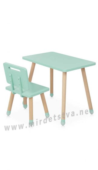 Детский комплект мебели Bambi M 4256 Square Mint