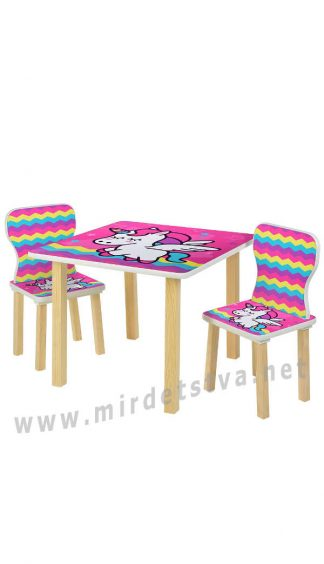Детский комплект мебели для девочки Bambi 508-64