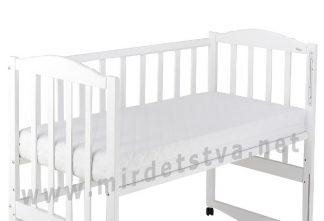 Детский матрас Солодких снiв Gold Comfort Premium 12см белый