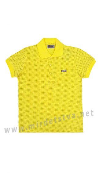 Футболка поло Cegisa 9760 желтая для мальчика