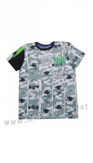 Хлопковая футболка для мальчика Cegisa 9595