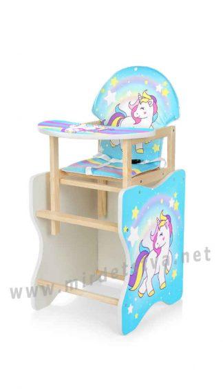 Комфортный стульчик для кормления Bambi М K-112-44-4PU