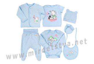 Комплект для новорожденных Бемби КП229