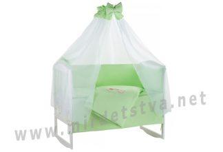 Комплект постельного белья Qvatro Ellite AE-08 салатовый