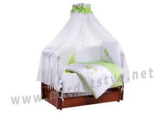 Комплект постельный в кроватку Tuttolina Sweet Kitty 30