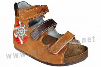 Кожаные ортопедические сандалии для мальчика 4Rest Orto 07-118