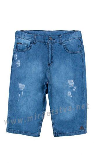Легкие подростковые шорты синий джинс Cegisa 5951