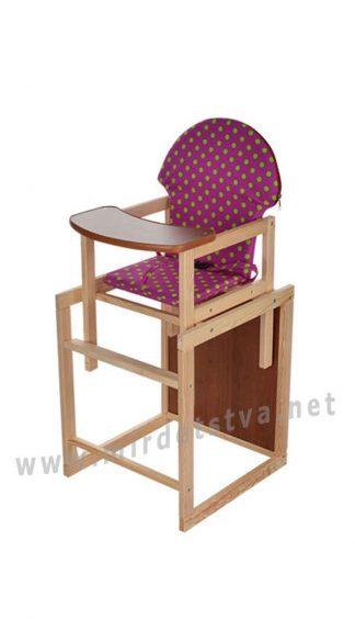 Малиновый стульчик для кормления Vivast M V-002-24